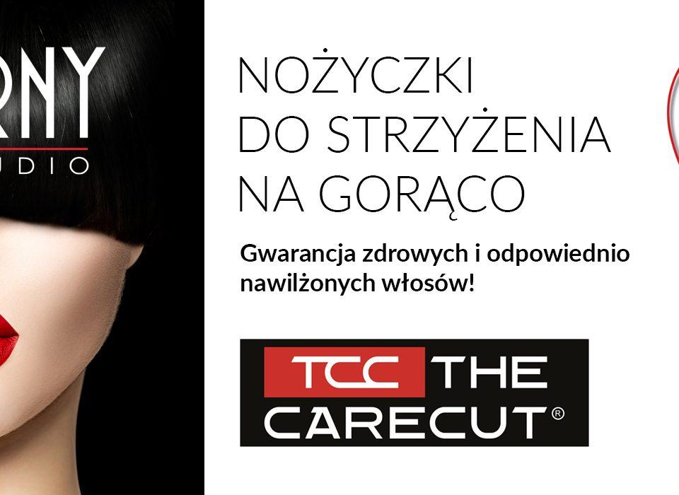 nożyczki na gorąco fryzjer Toruń Górny studio fryzur